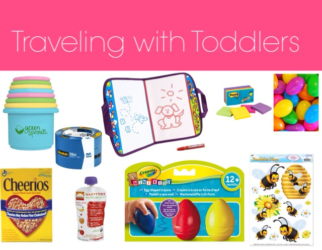 Traveling with babies Items
