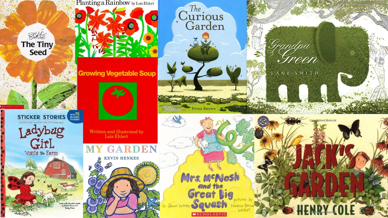 Little green thumbs the petite stag for Children s books about gardening