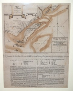 A Plan of the Attack of Fort Sulivan, near Charles Town in South Carolina. William Faden