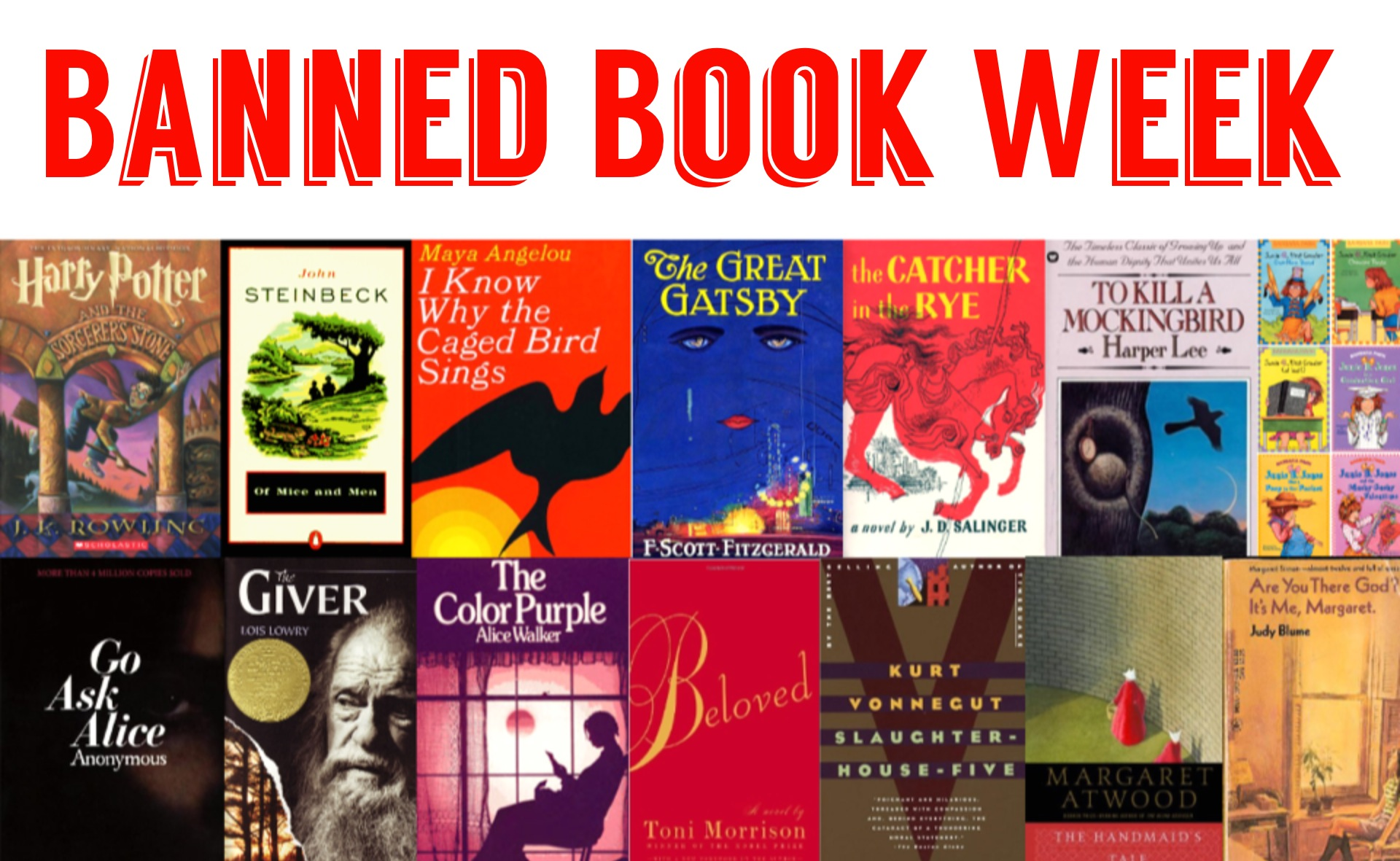 It's Banned Book Week | The Petite Stag