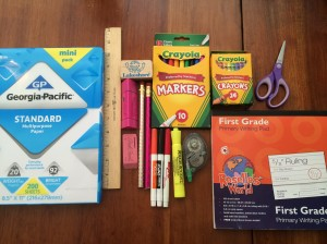 Homework Station Items