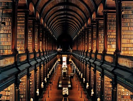 Long Room, Trinity College, Dublin Ireland