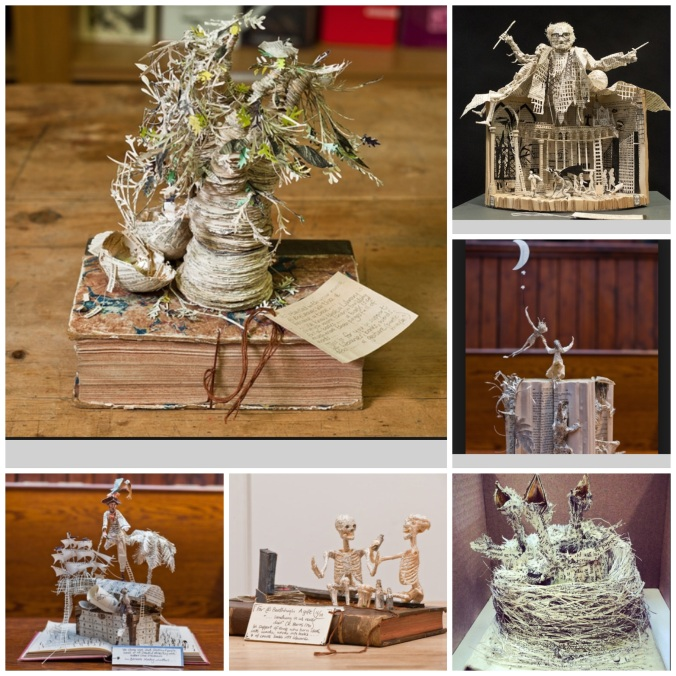 Mystery Book Sculptor Scotland