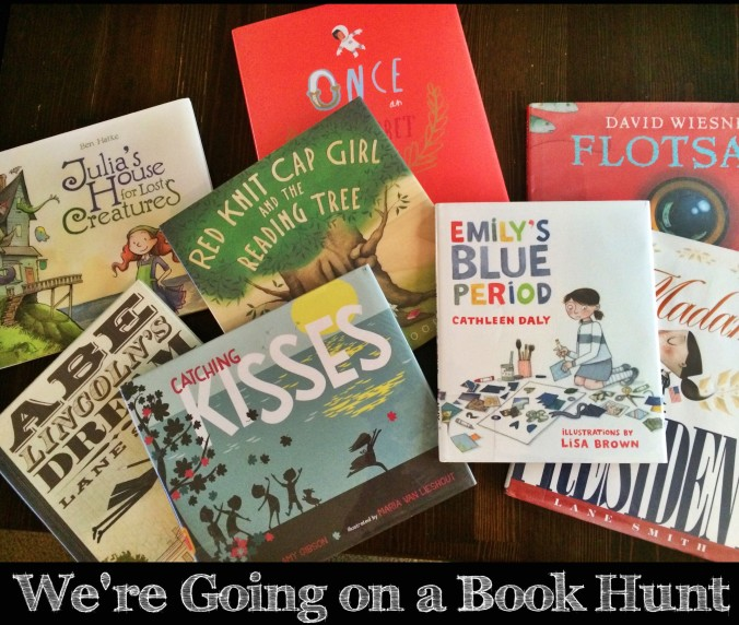 Going on a book hunt