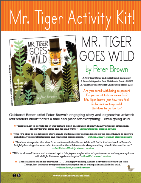 Mr. Tiger Activity Kit