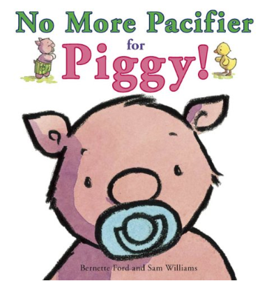 No more pacifier as a piggy
