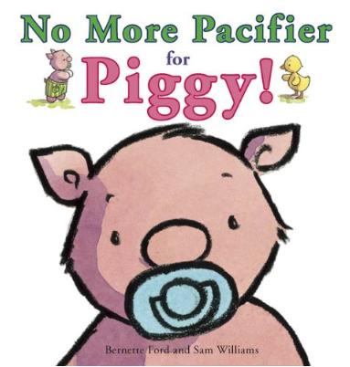 No more pacifier as a piggy