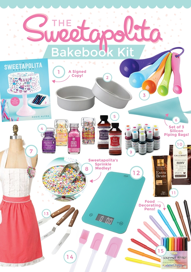 Bakebook Kit