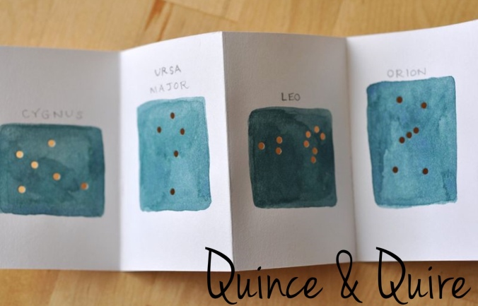 Quince & Quire Constellation Book