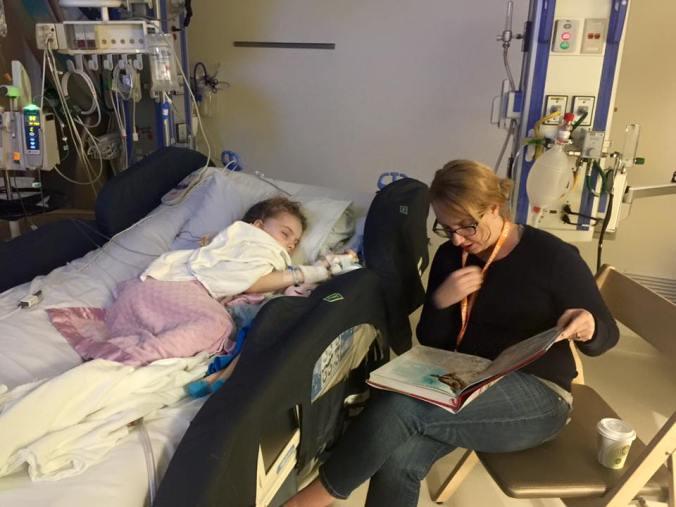 Zoe in ICU