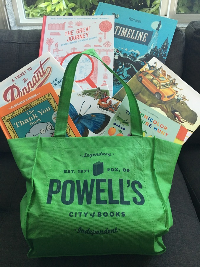 Powell's Books Haul