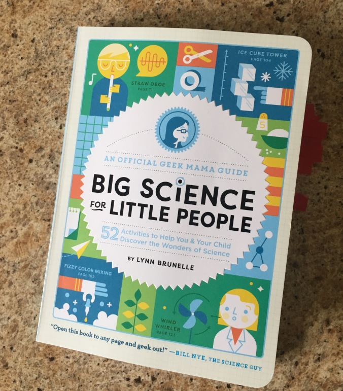 Big Science for Little People Cover